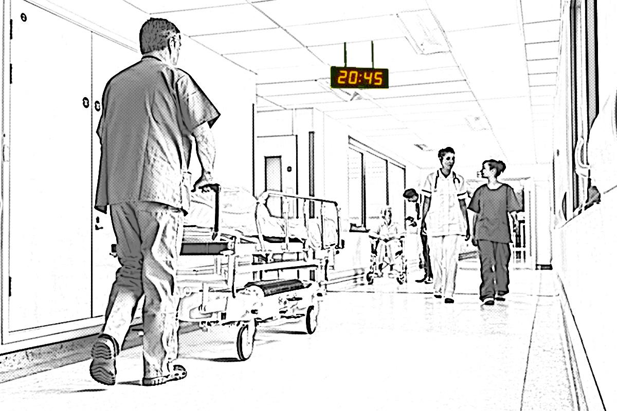 Centralni sat bolnice