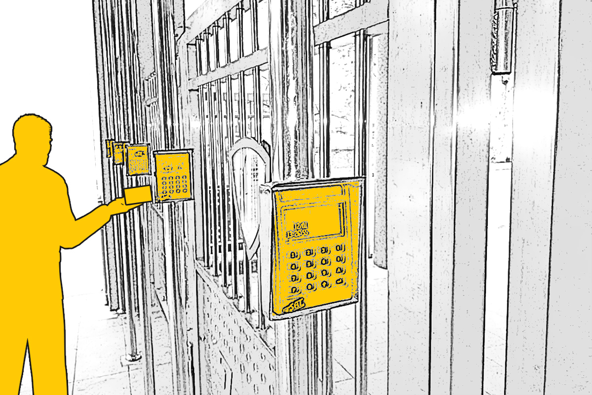 Kontrola pristupa i evidencija radnog vremena