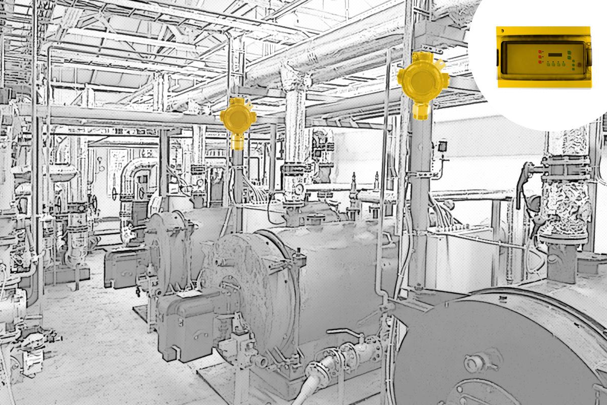 Stabilni sistemi detekcija eksplozivnih gasova para